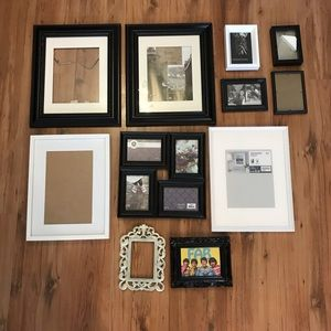 Other - Black and white picture frames $8-20/each